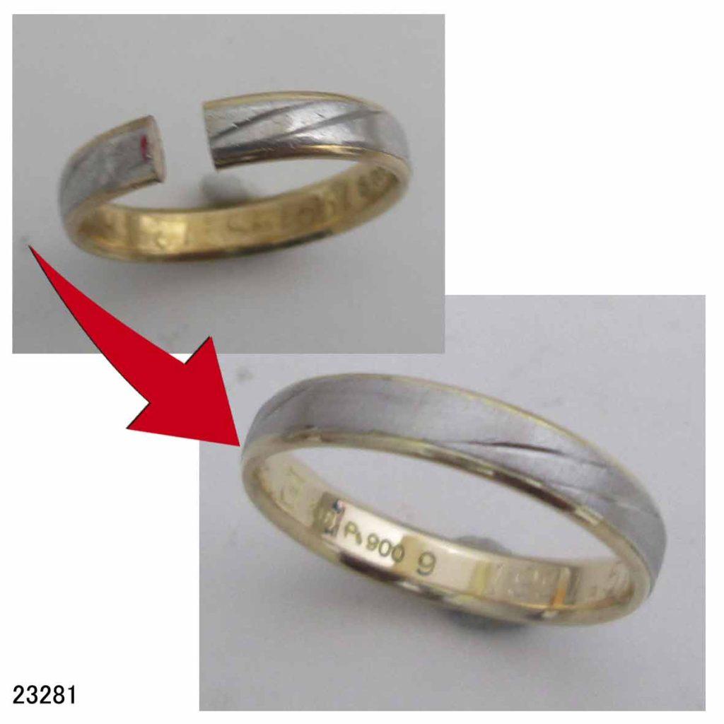 23281結婚指輪サイズ直し